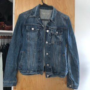Fitted spring jean jacket from the Gap